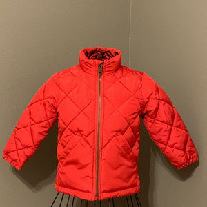 BabyGap Red Toddler Puffer Jacket Size 2years